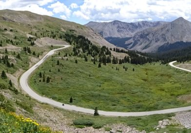 Cottonwood Pass – 3696 m