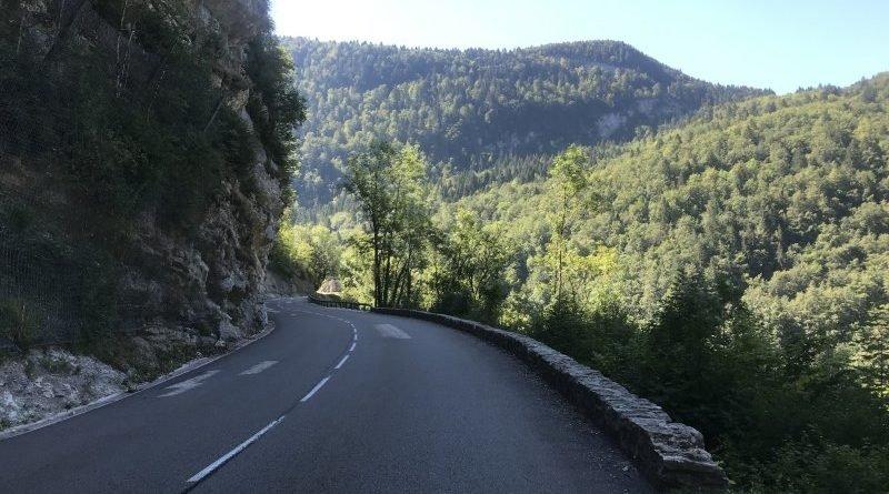 Montée du Tour de France : de St-Claude aux Rousses